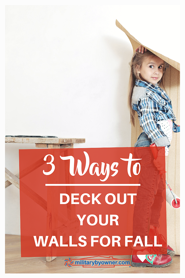 3 Ways to Deck Out Your Walls for Fall