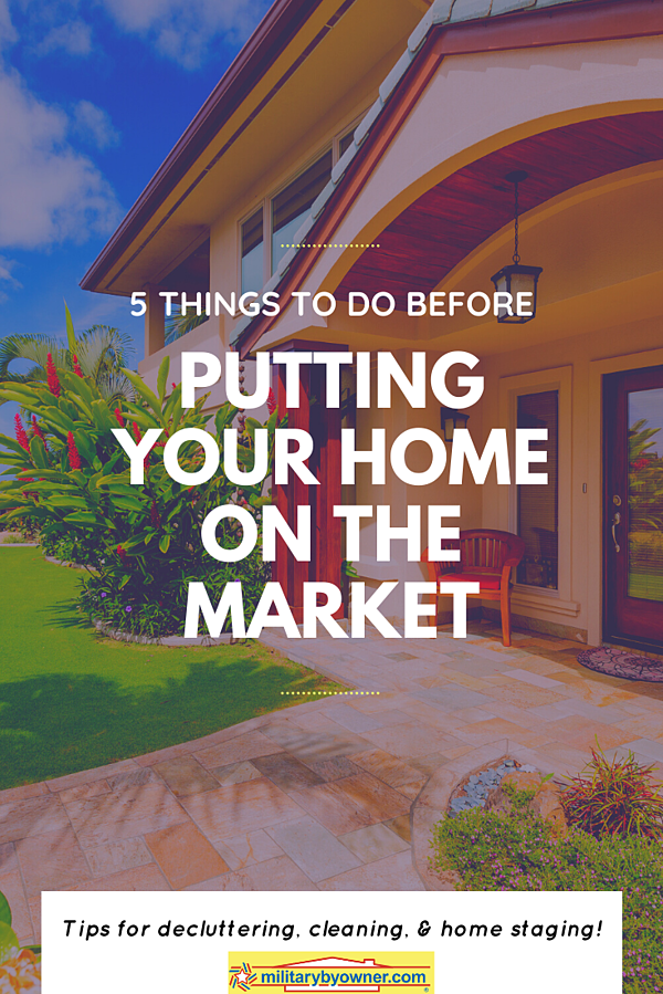 5 Things to Do Before Putting Your Home on the Market (1)