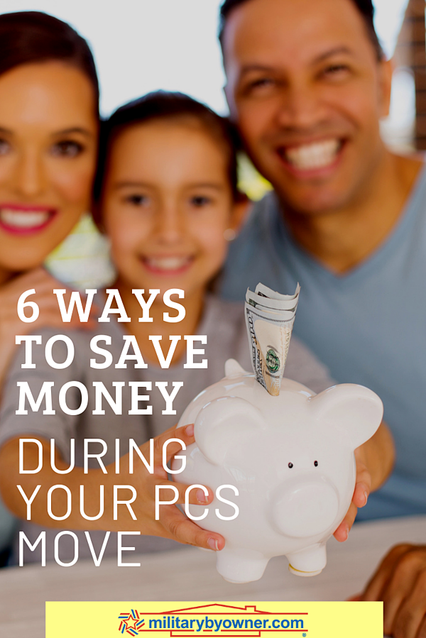 6 Ways to Save Money During Your PCS Move