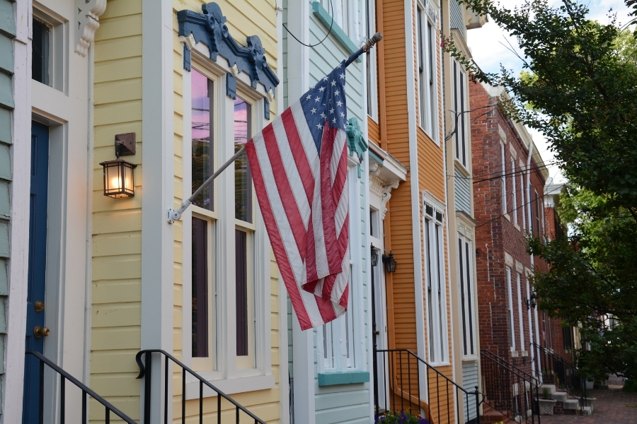 Newcomers to Alexandria often envision the colonial homes found in Old Town as what they'll find if moving to the city.