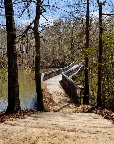 Fort Eustis trail