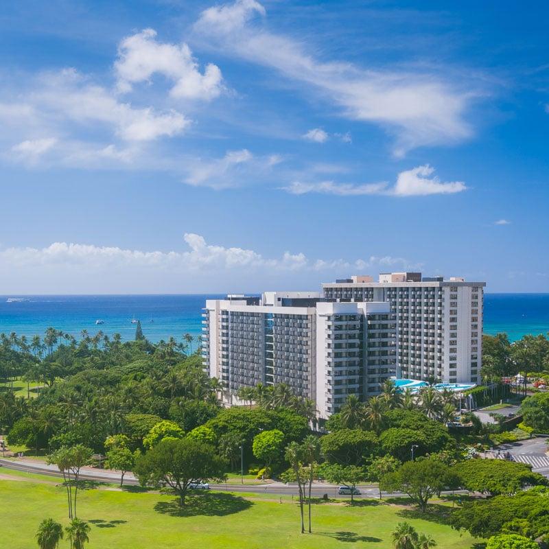 Hale koa hotel in Oahu Hawaii