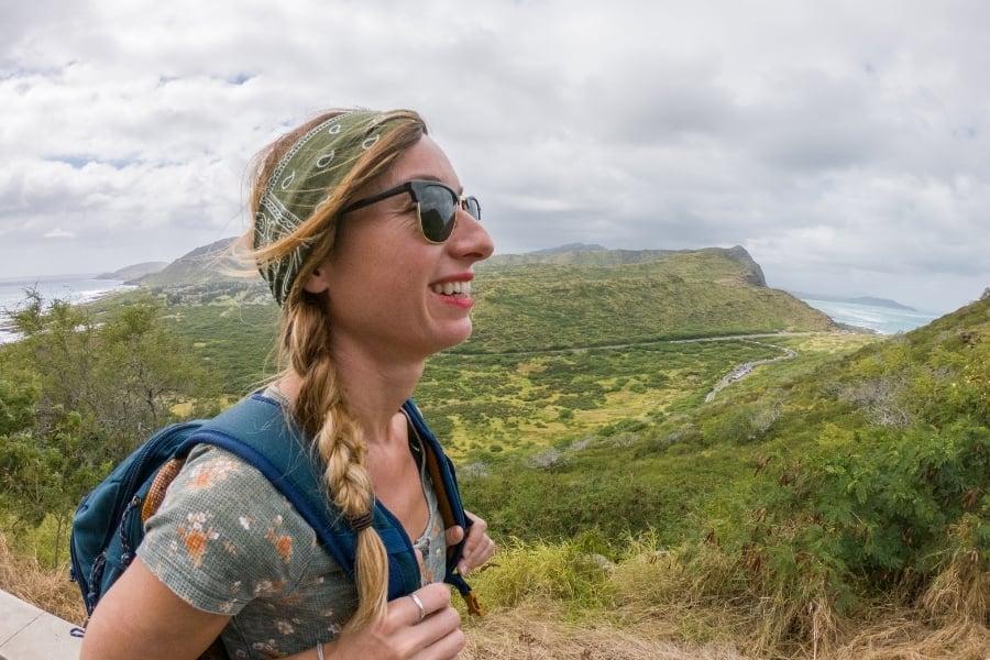 Hiking in Oahu near JBPHH