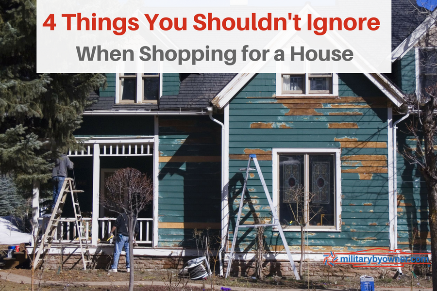 """""""Good Bones"""" or a Hot Mess? 4 Things You Shouldn't Ignore When Shopping for a Home."""