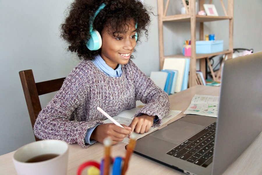 Many families are choosing to remain virtual this school year.
