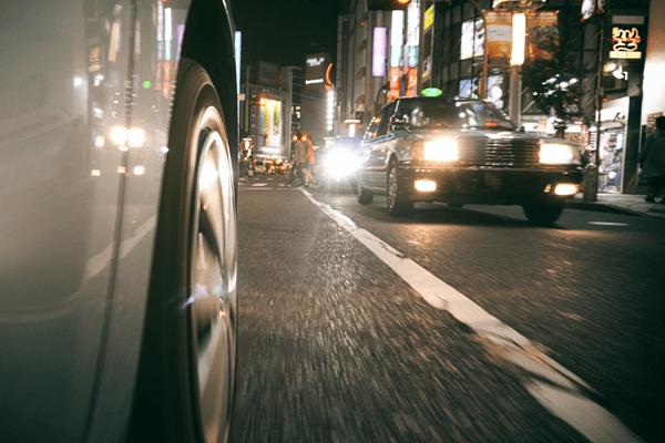 Car driving in Japan