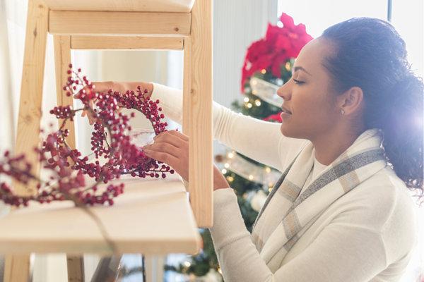 Staging your home during the holiday season.