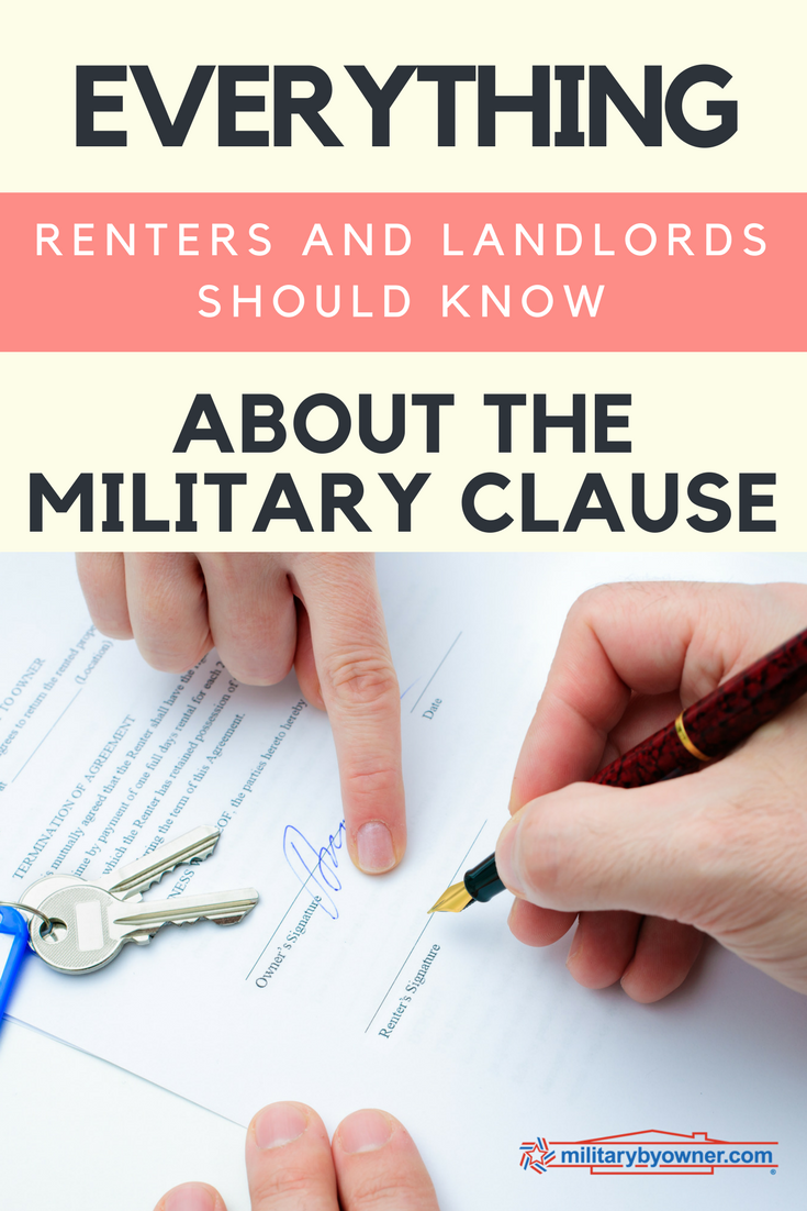 Everything Renters and Landlords Should Know About the Military Clause