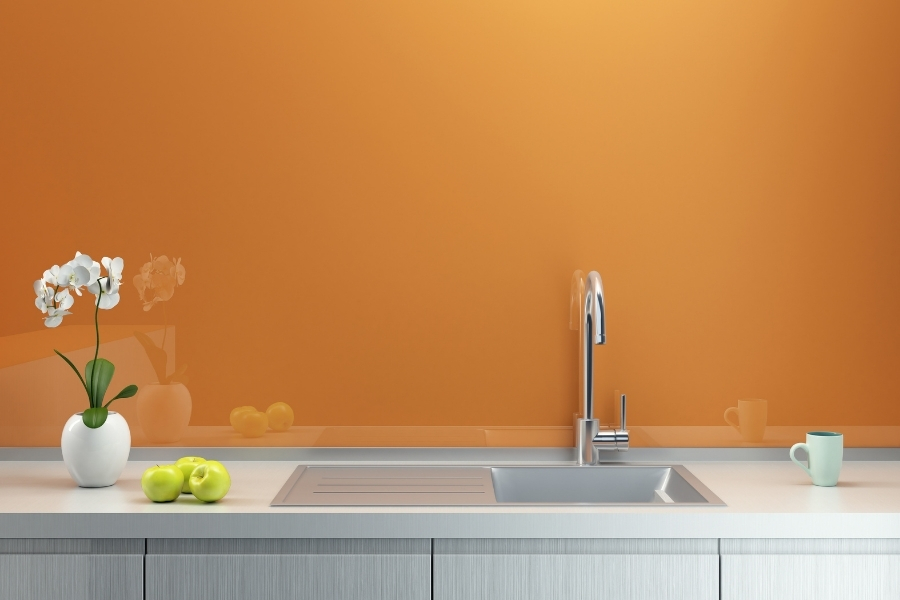 If you need 2021 on-trend inspiration, scan a few home decorating sites, and you'll see orange.