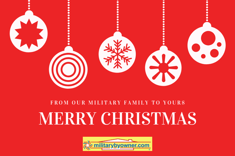Merry Christmas from MilitaryByOwner