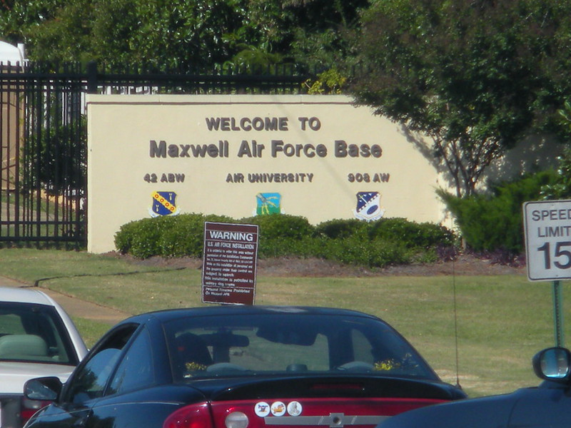 Maxwell AFB base image