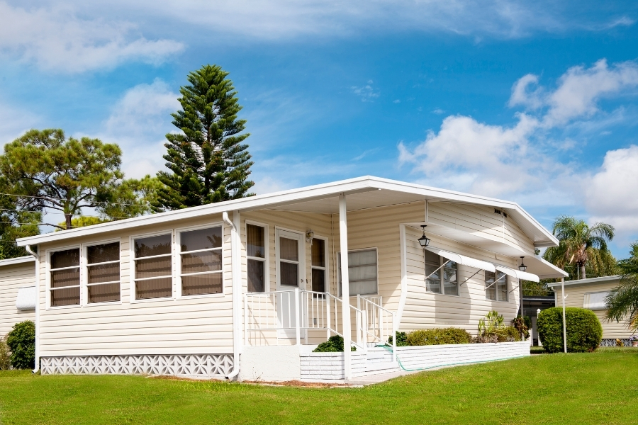 A modular home is an approved purchase, but lenders consider these types of homes a depreciating property