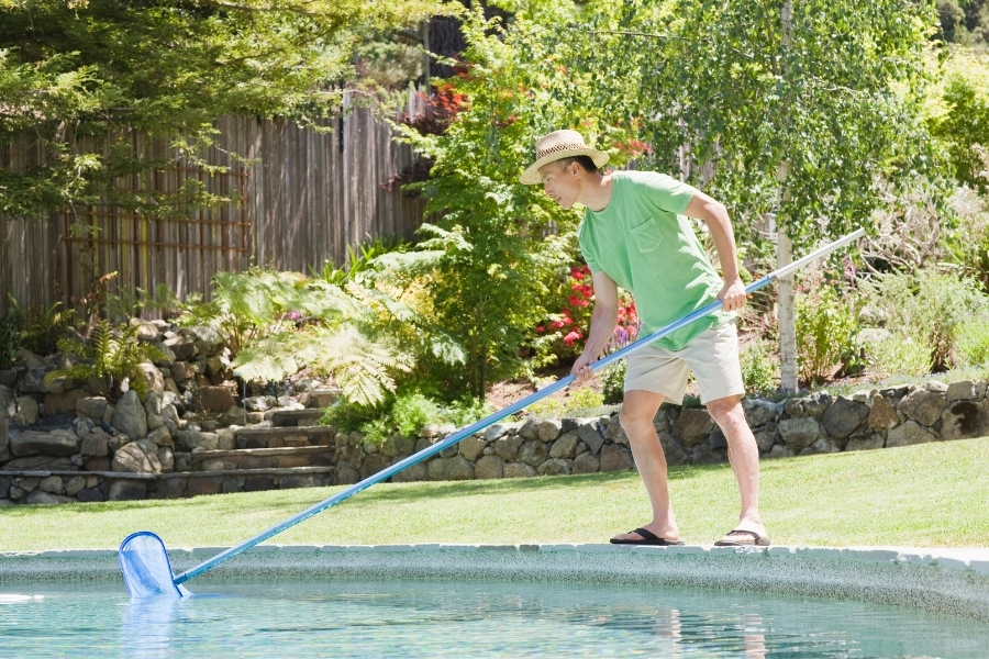 Without regular cleaning, the pool will become a cesspool of pollutants that can harm swimmers