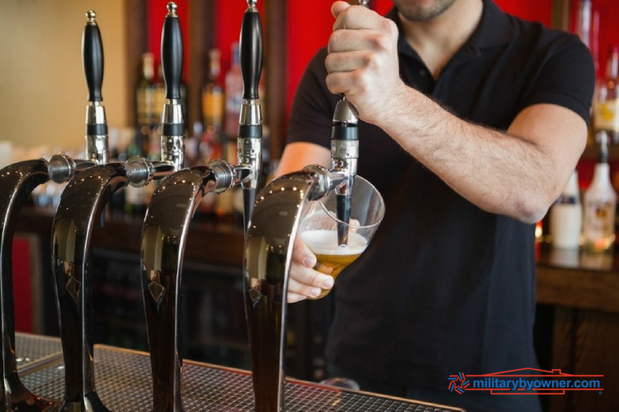 Top 10 Duty Stations for breweries near duty stations