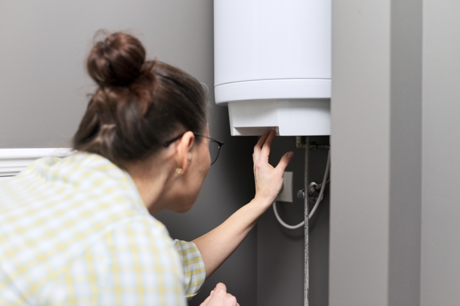 Issues with your water heater are a good reason for tenants to notify their landlord.
