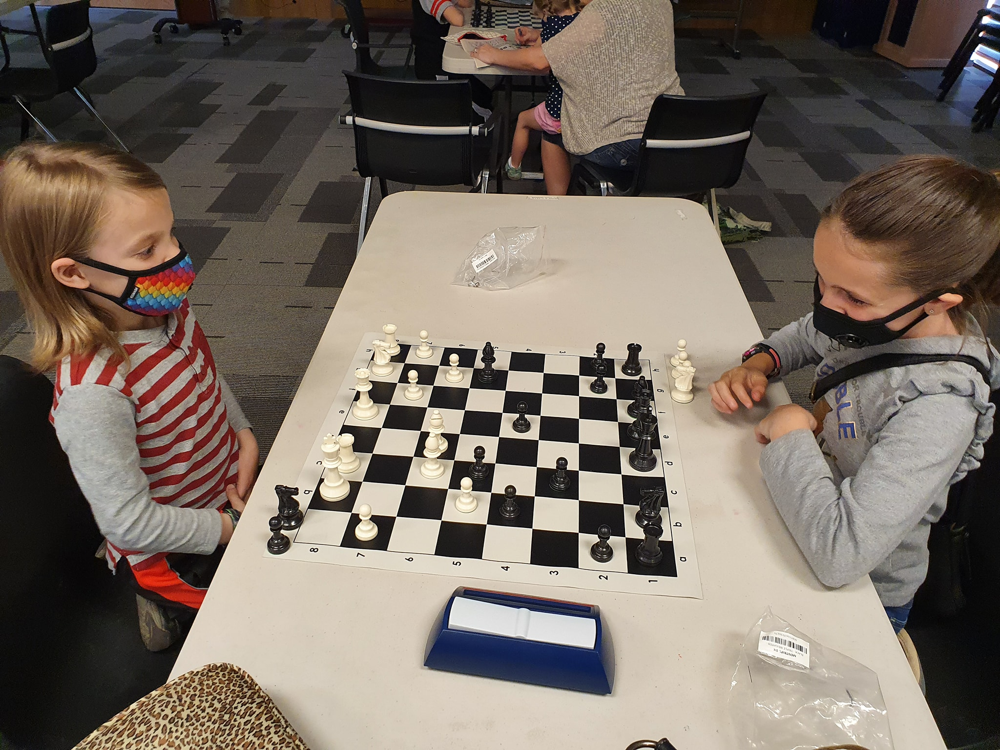 Playing chess at MWR