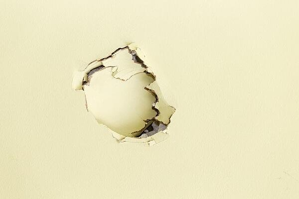 Tenants may be able to patch drywall themselves.