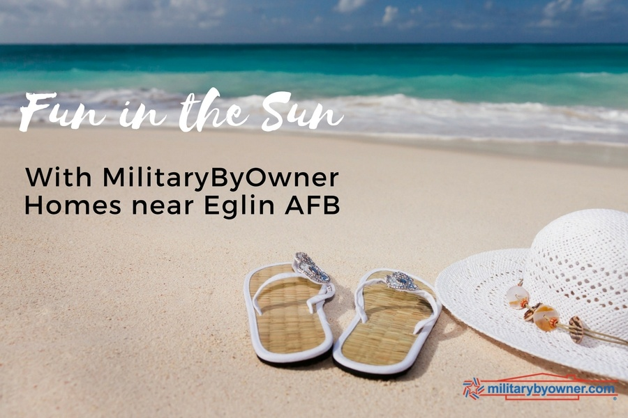 Fun in the sun with MilitaryByOwner homes near Eglin AFB.