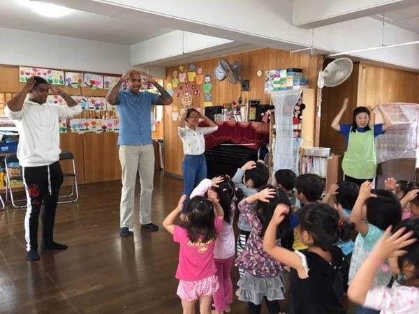 volunteering in Okinawa