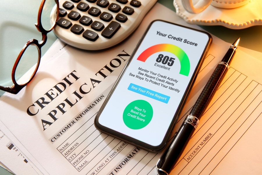 Having good credit is only part of the application puzzle. Landlords want to know that an applicant has a sufficient, reliable source of income.