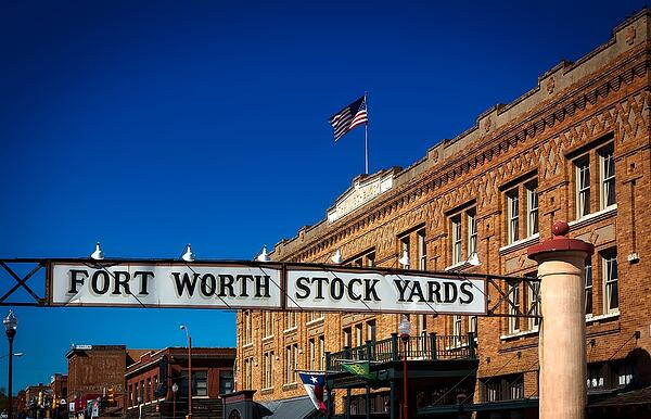 Stock yards in Fort Worth