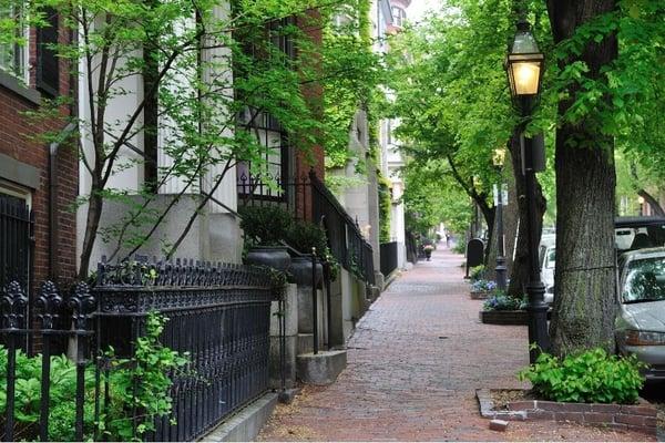 Historic Beacon Hill neighborhood