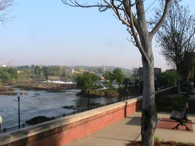 Chattahoochee Riverwalk near Fort Benning
