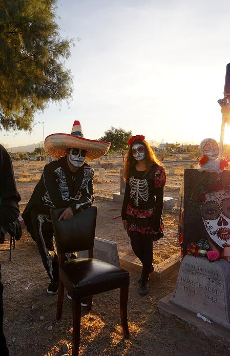 Dia De Los Muertos El Paso