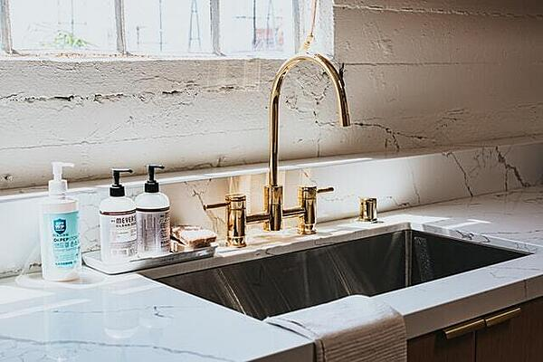 Replacing your faucet is a simple DIY task.