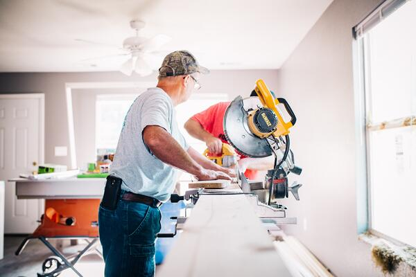 DIY when you can when it comes to home renovations