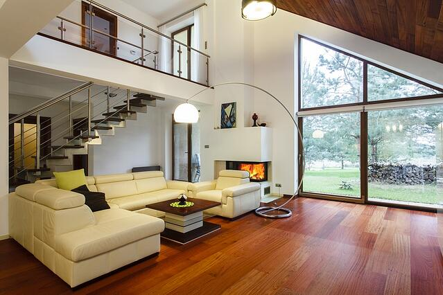 Designer's house with entresol and spacious living room.jpeg