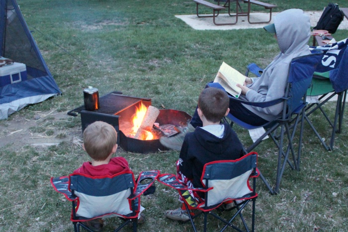 Camping can help ease the financial burden of PCS.