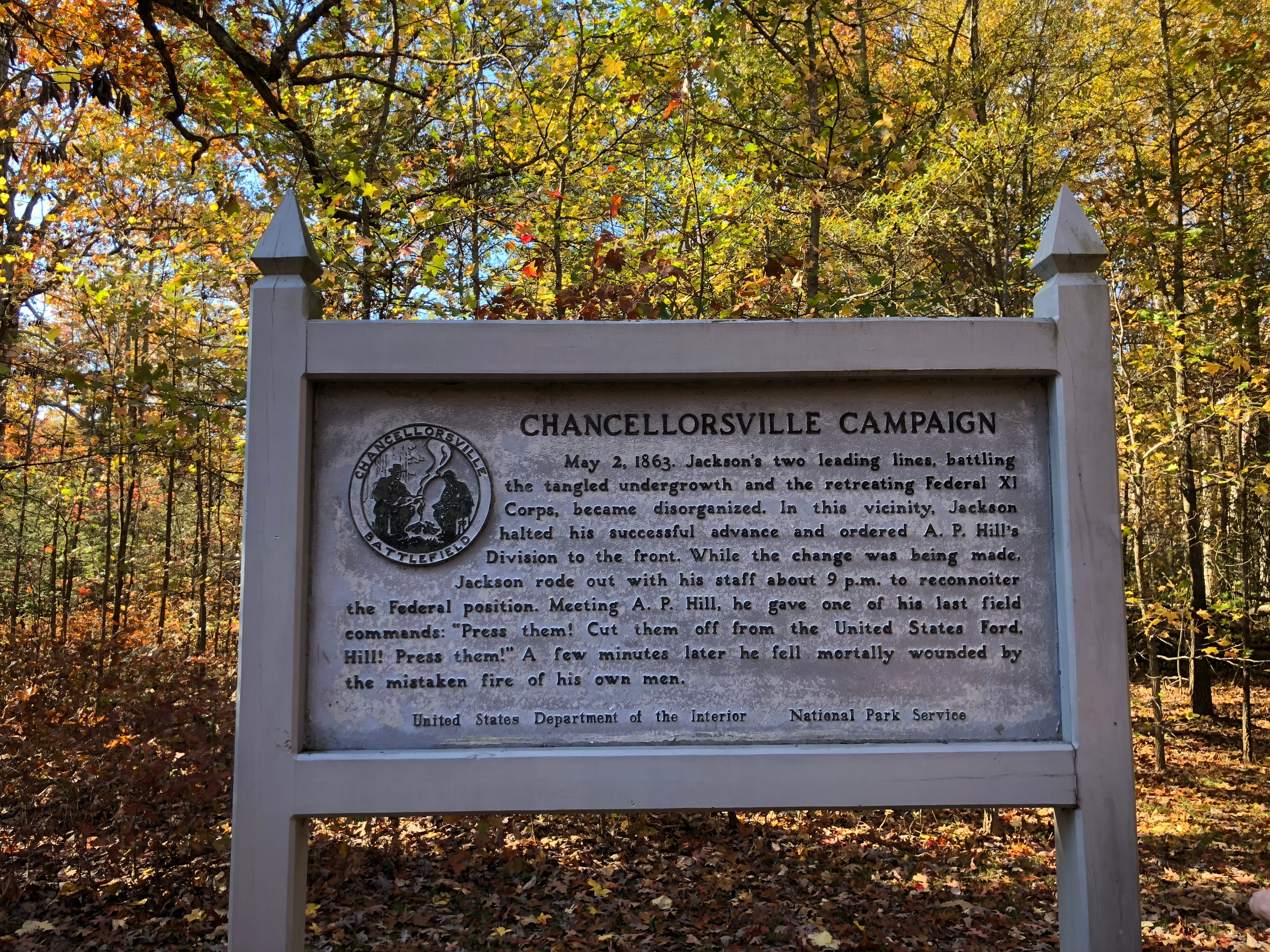 Battle at Chancellorsville