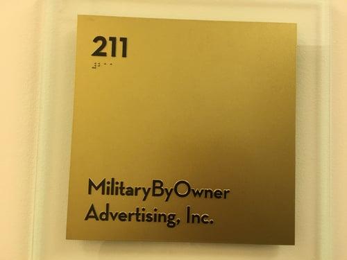 MilitaryByOwner Advertising