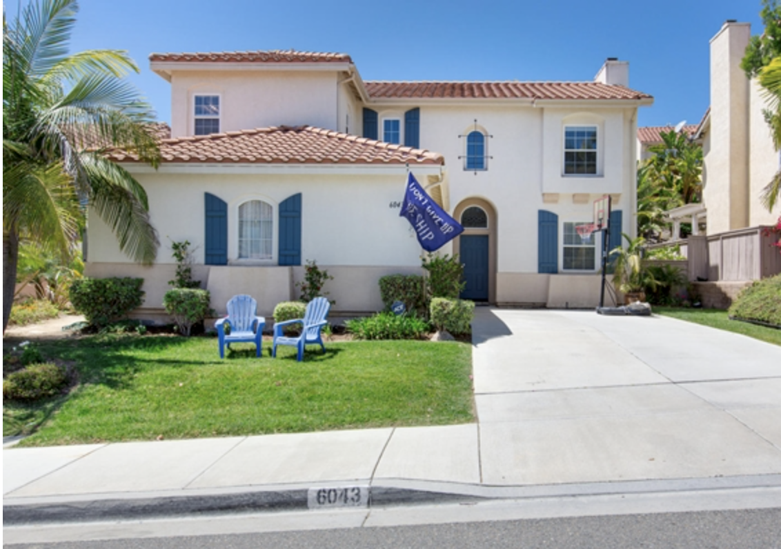 Homes near San Diego Naval Base
