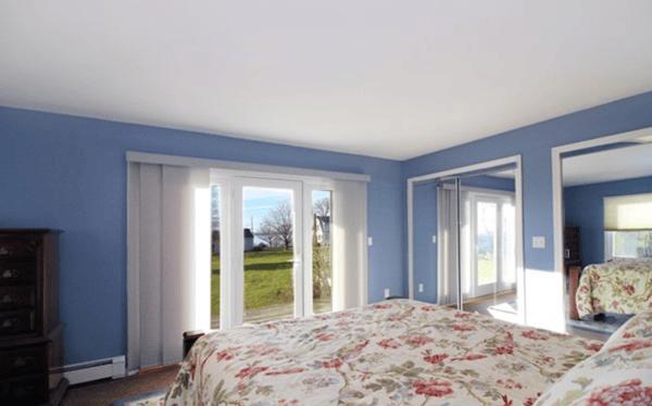 Bedroom view from Newport Rhode Island rental.