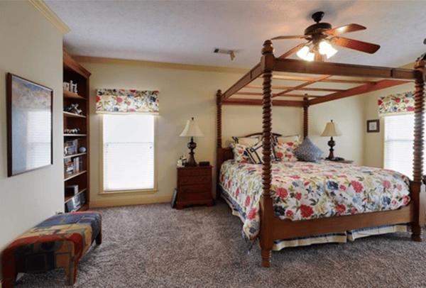 Fountain Lane bedroom
