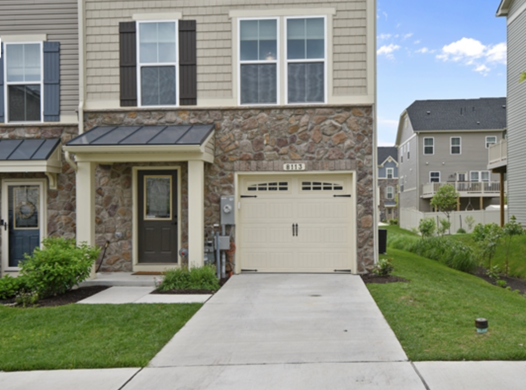 Townhome in Glen Bernie near Fort Meade