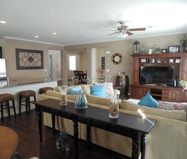 Henderson Nevada Home Living Room