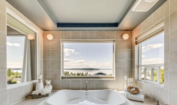 JBLM home for sale master bathroom