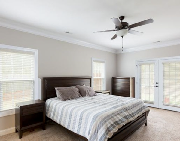 Fayetteville home for rent master suite
