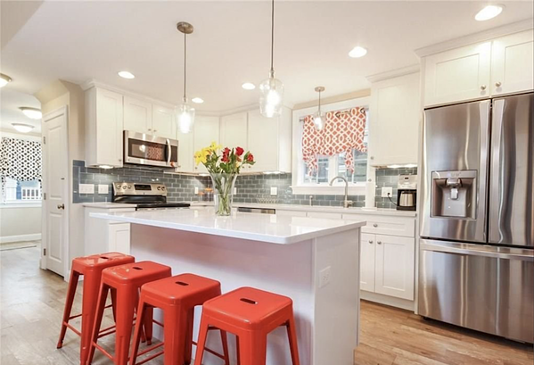 Check out this gorgeous kitchen in Newport, RI.