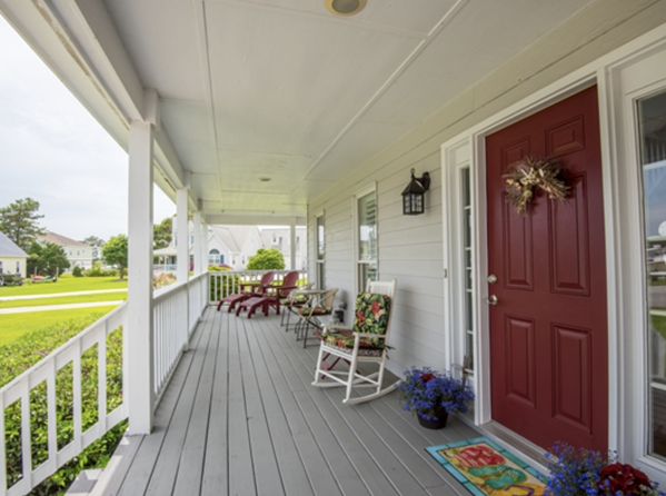 Newport NC Home Wraparound Porch