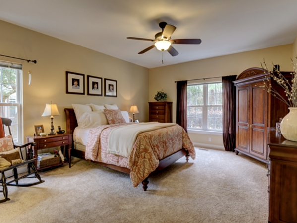 Sneads Ferry Home Master Bedroom