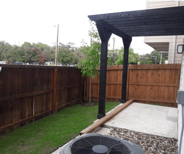 Fort Sam Houston yard