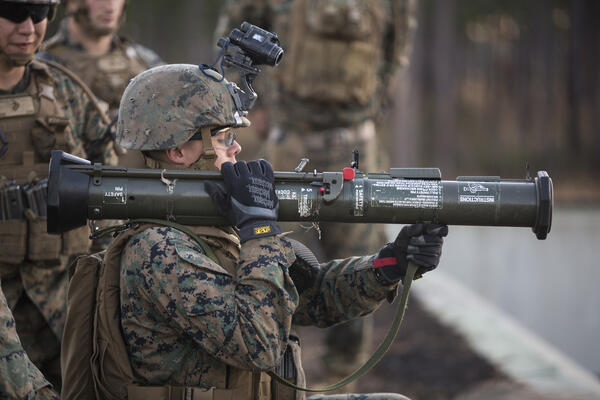 Marine Corps Live Fire Exercise