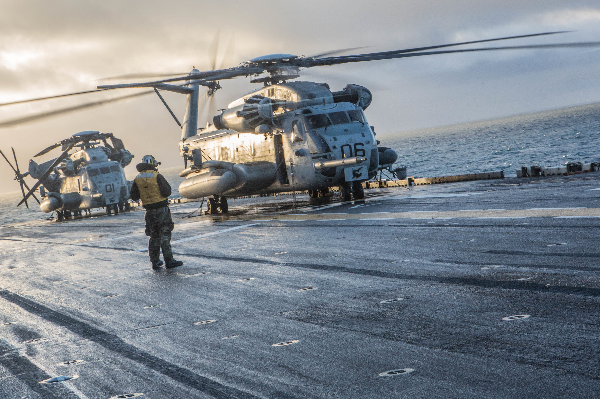 Marine Corps CH-53 Sea Stallion
