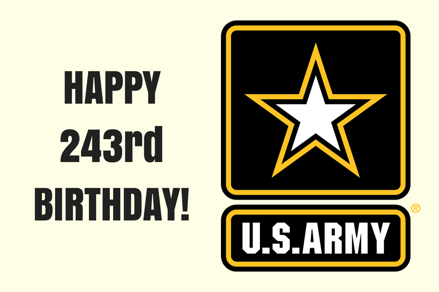 Happy 243rd Birthday, U.S. Army!