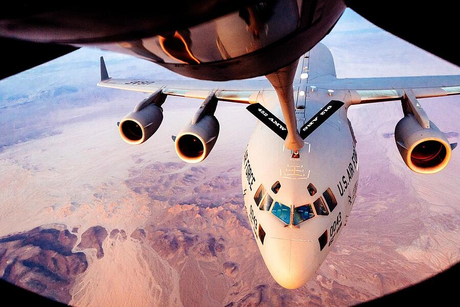 KC-135 Refueling