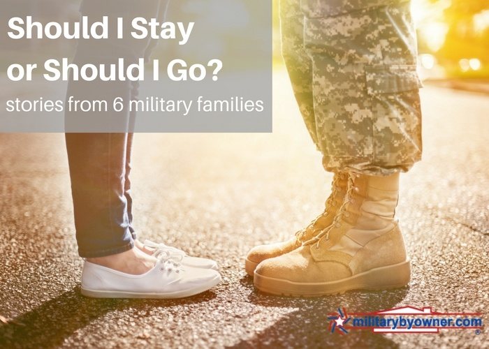 Should I stay or should I go? Staying in or getting out of the military.